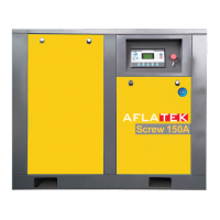 Sraigtinis oro kompresorius AFLATEK Screw 150A 19800l/min